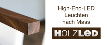 High End LED Leuchten nach Mass