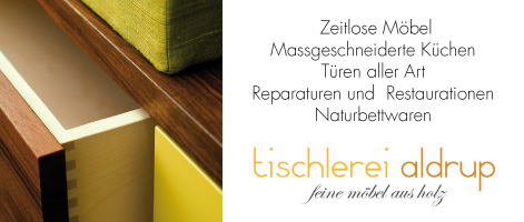 Fine wooden furniture from the joinery aldrup