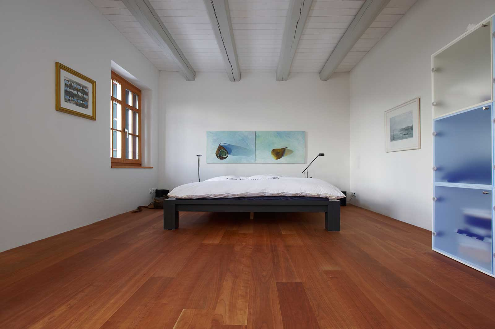 Bedroom in solid wood from Arbos AG, Switzerland