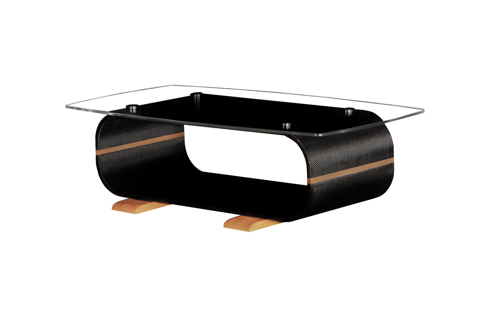 Carbon coffee table, high-tech by Carbotion, Switzerland