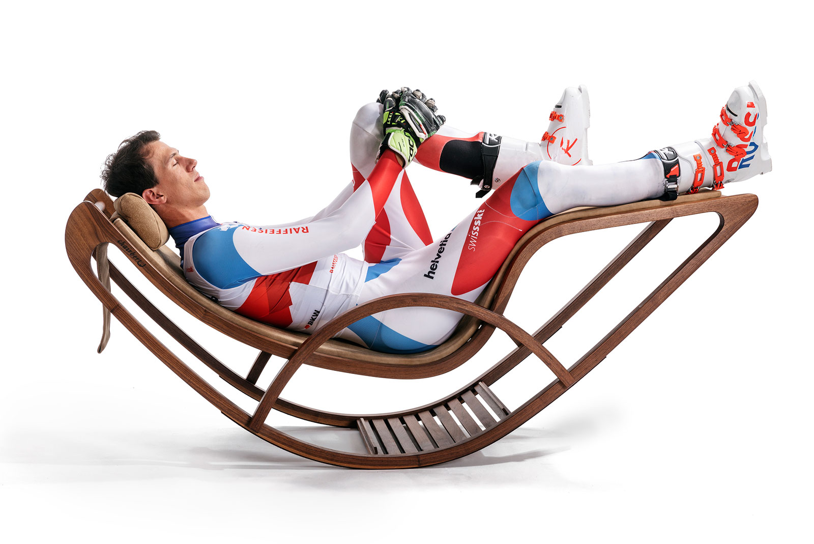 Champions-Lounger, recommended by Olympic Champion Ramon Zenhäusern, Switzerland