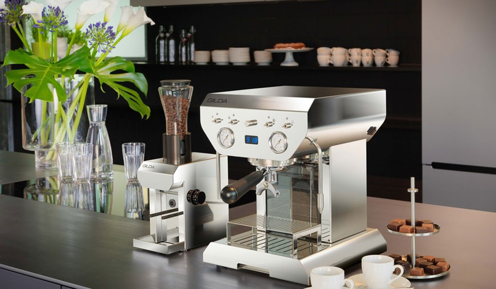 Coffee machines by GILDA are high-quality  for the perfect coffee.