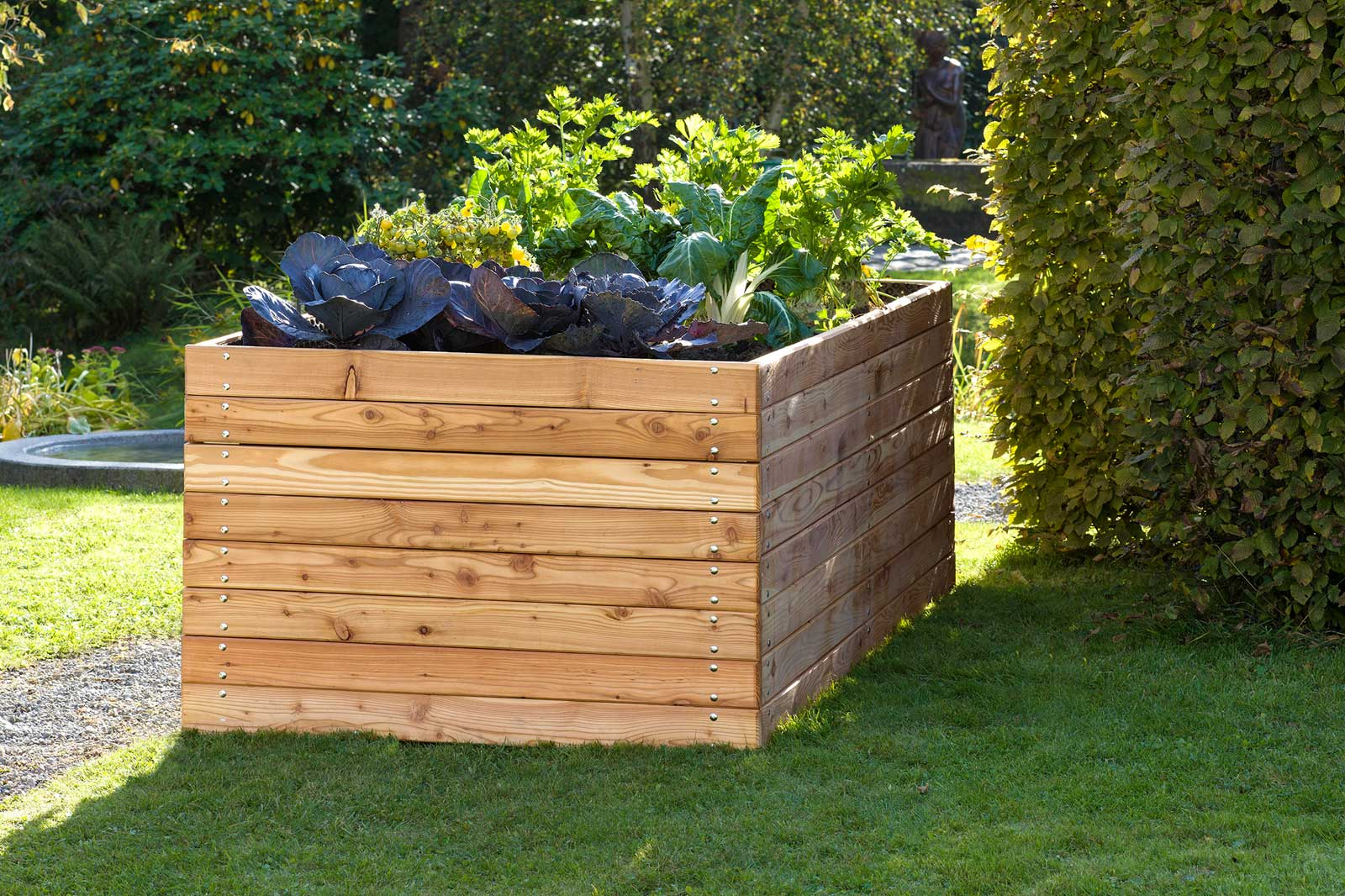 Raised beds by Sager for terrace or balcony, Swiss Made