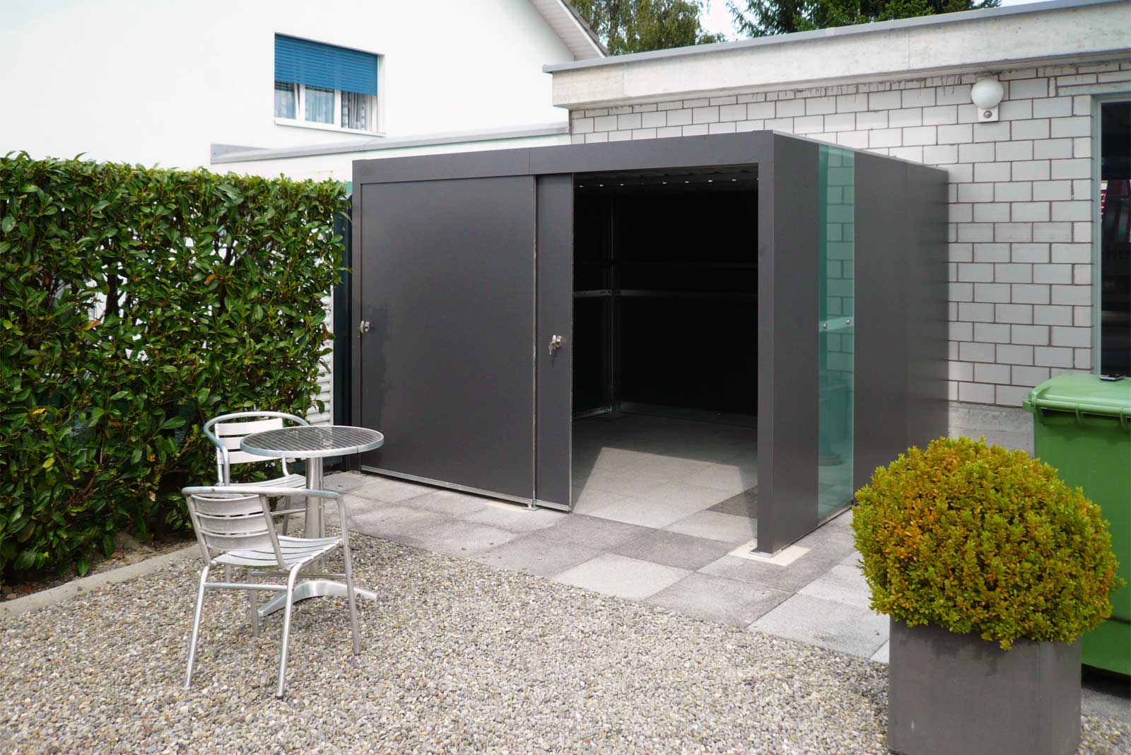 Velogarage for security and protection by Velopa AG, Switzerland