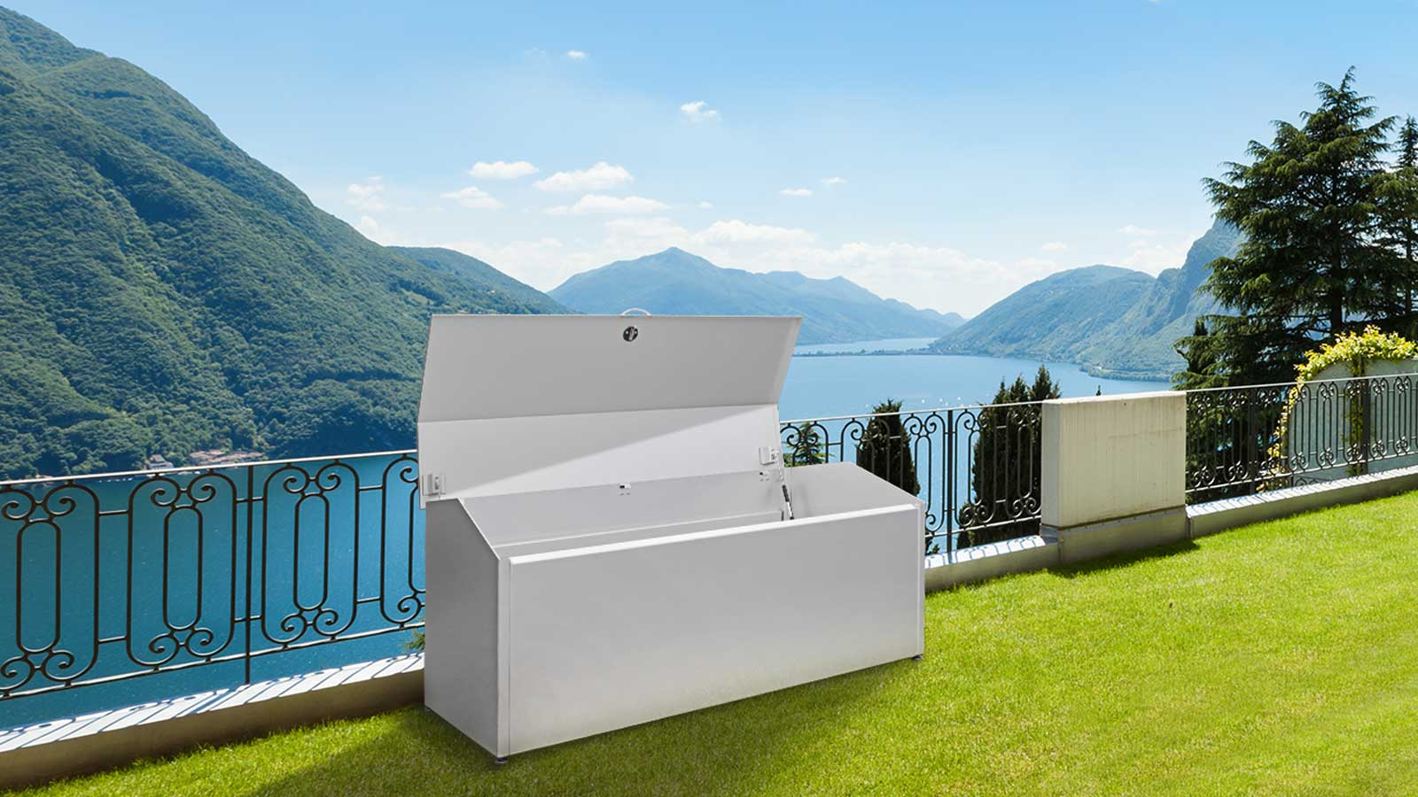 Storage box for garden, balcony and terrace from Velopa