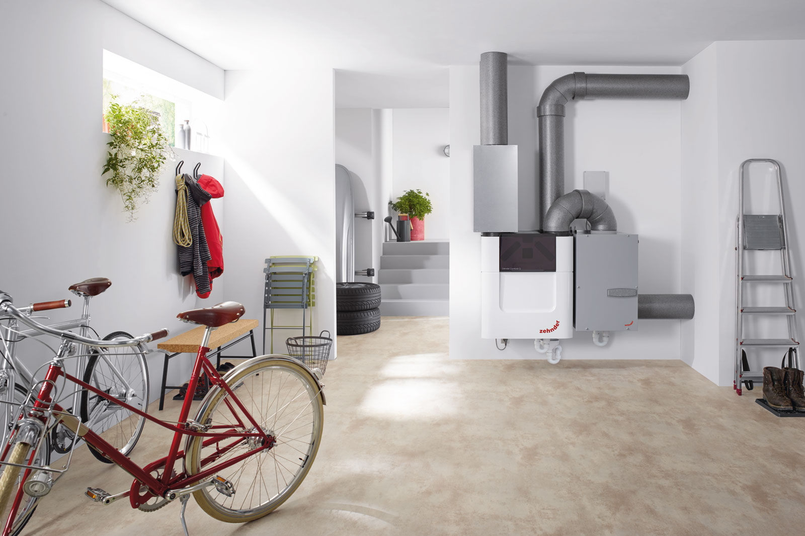 Ventilation systems from Zehnder for a perfect room climate
